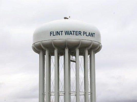 Flint water tower jpg