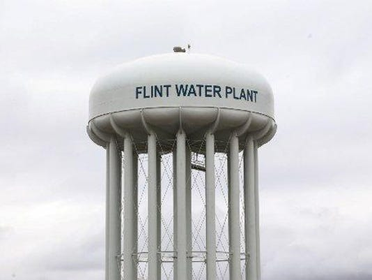 Flint water tower jpg
