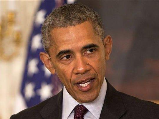 President Barack Obama has higher approval ratings