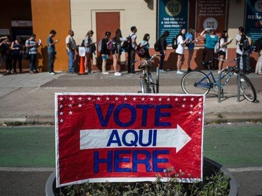 Super Tuesday, Texas Votes