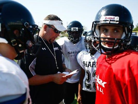 Gulf Coast High School head coach Pete Fominaya. PHOTO BY SCOTT MCINTYRE