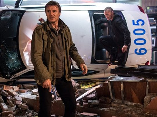 Liam Neeson and Joel Kinnaman are a father and son in a personal war with a mob boss in Run All Night.
