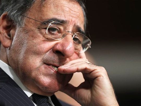 In this 2011 file photo, then-CIA Director nominee Leon Panetta testifies on Capitol Hill in Washington.