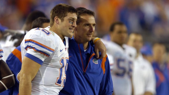 Tim Tebow and Urban Meyer led one of the greatest teams in college football, but are the 2008 Florida Gators the best ever as their former coach says?