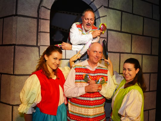 Surfside Playhouse presents Monte Python's Spamalot.