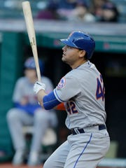 Michael Conforto could be getting playing time at first base this season.