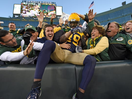 Green Bay Packers wide receiver James Jones (89) does