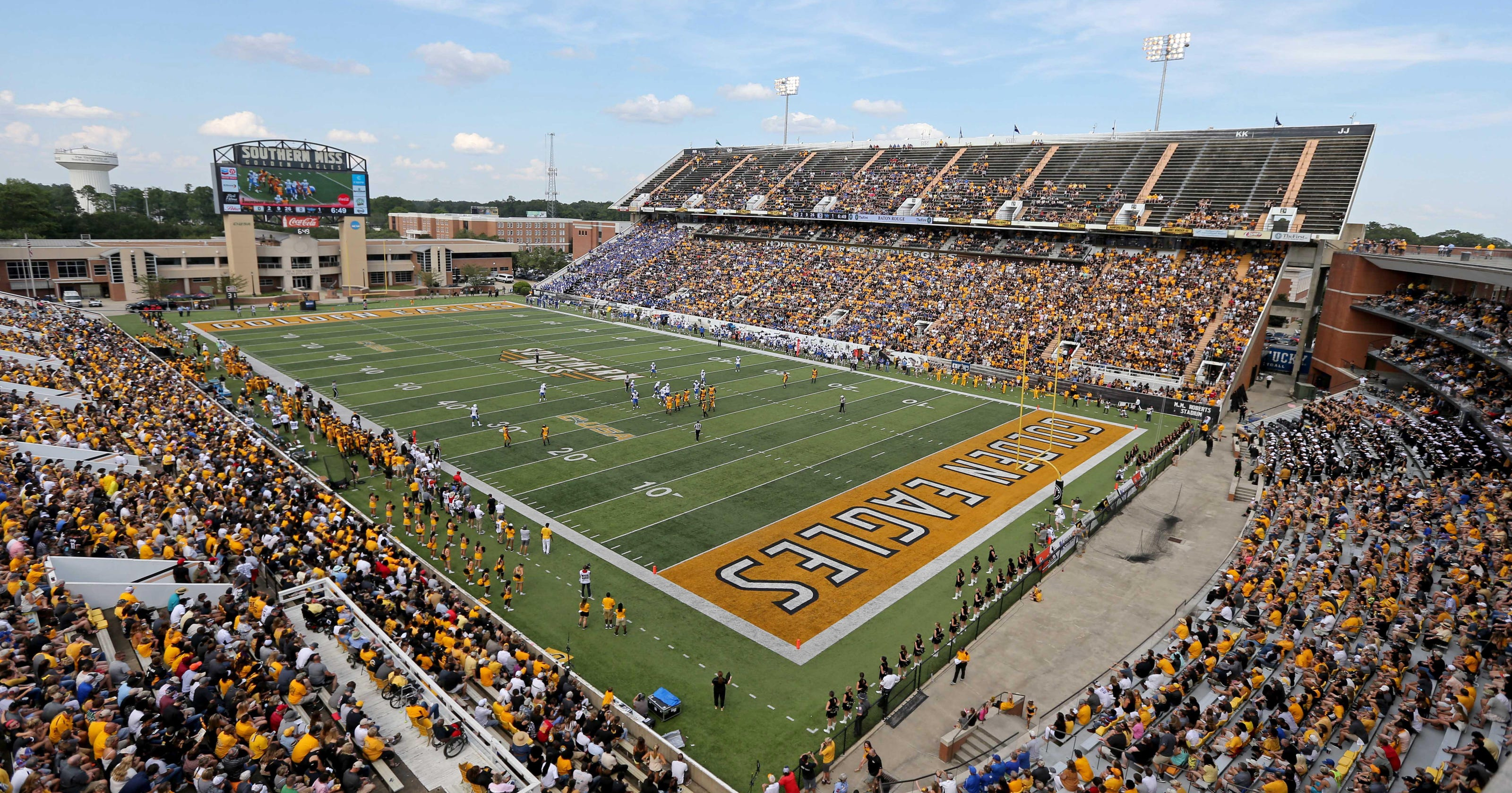 University Of Southern Mississippi >> Stadium Tv To Broadcast The Southern Miss Southern Football Game