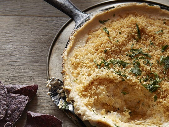 Crab and Chile Gratin.
