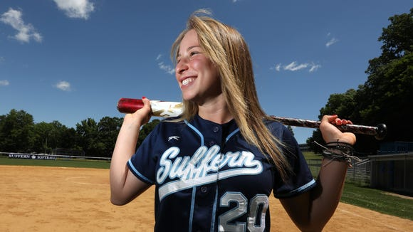 Suffern junior Sam Kaner is the 2018 Journal News/lohud Rockland softball player of the year. June 14, 2018.