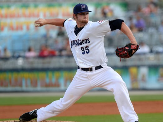 Gulf Breeze native Ben Lively makes his debut appearance on the pitching mound for the Pensacola Blue Wahoos on Monday. He is the first player from the area to joint the Blue Wahoos roster.