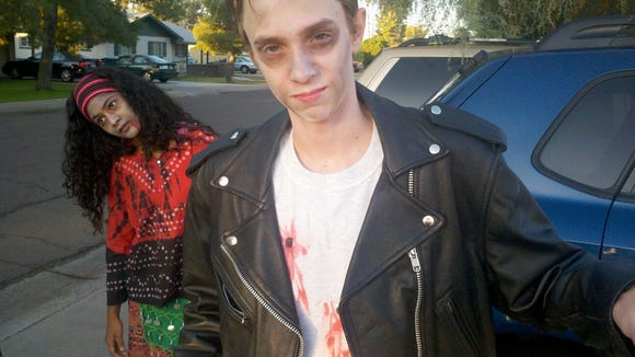 I learned how to turn my carpool kids into zombies on YouTube.