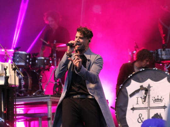For King and Country will perform in San Angelo on April 21.