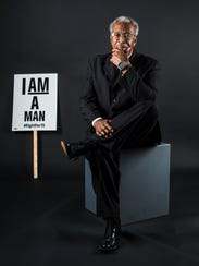 Ozell Ueal, 78, is a former Memphis sanitation worker.