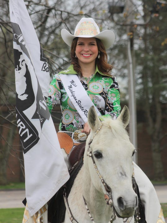 Birmingham Resident Crowned Miss Michigan State Rodeo Queen