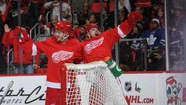 Red Wings get blue-line boost in win, halt skid
