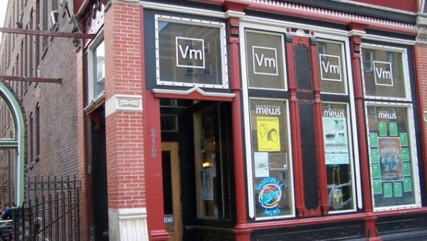 VAUDEVILLE MEWS, 214 Fourth Street, Des Moines 249 capacity. Standing room and upper balcony with seating. Books local and national bands, genres of indie rock, hip hop, punk and metal. Has booked emerging artists like Of Montreal and the Decemberists early in their careers.