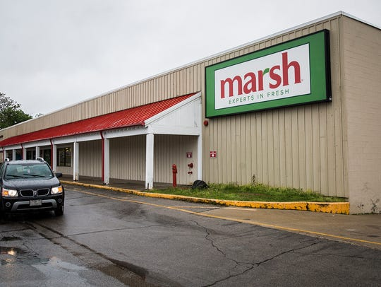 The Marsh Supermarket on Hoyt Avenue in Muncie Thursday