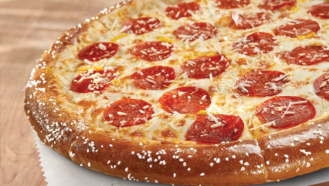The Soft Pretzel Crust Pepperoni Pizza will be available at all U.S. and Canada Little Caesars restaurants.