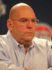 Detroit Pistons general manager Jeff Bower