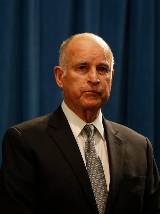 California Governor Jerry Brown Addresses Dept. Of Justice Lawsuit Against California
