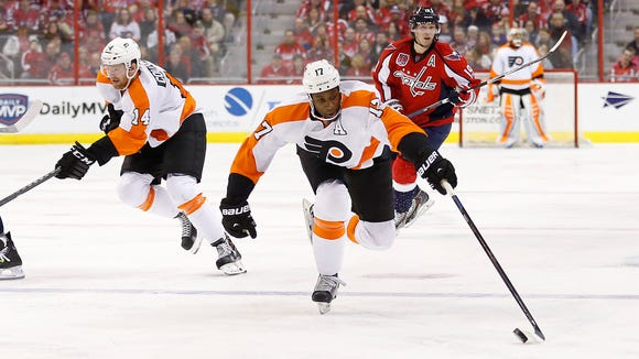 The Flyers are making their first trip to Washington this season.