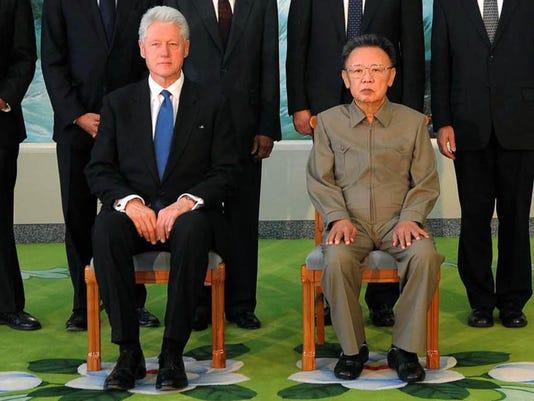 Bill Clinton,Kim Jong Il