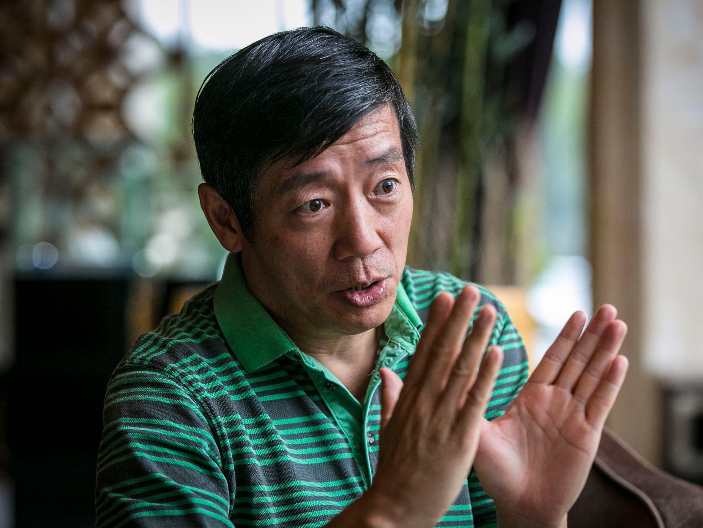 David Liu runs Gansu Hengji Seed Co. and is helping