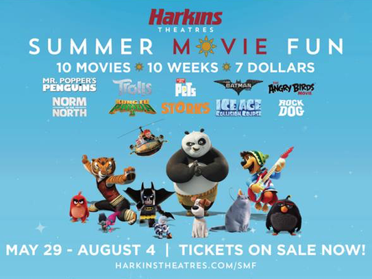 Families can buy passes to see kid-friendly films all