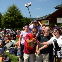 Crush of visitors, heavy traffic fail to overshadow eclipse day