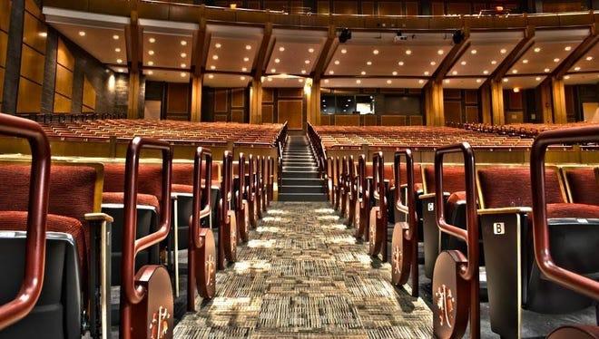 The Churchville-Chili High School auditorium