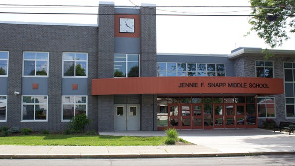 Jennie F. Snapp Middle School in Endicott was placed