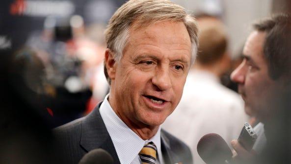 Gov. Bill Haslam appointed Tas Gardner, of Paris, to
