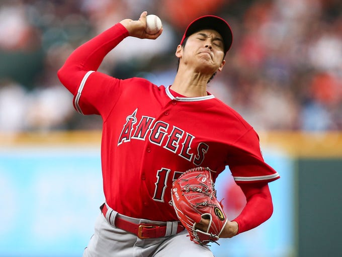 April 24: Shohei Ohtani, in his fourth start, faces