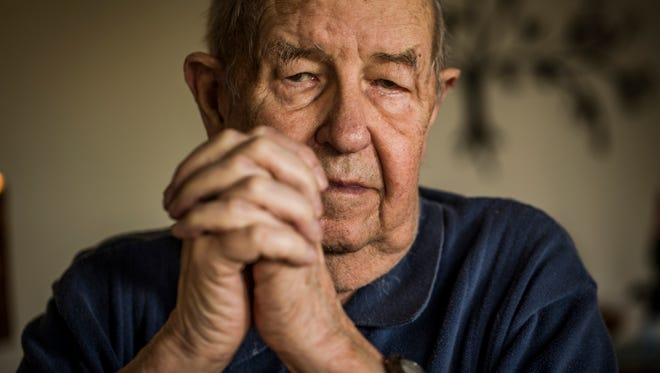 Ken Moore was a 19-year-old medic when he parachuted into France on the night before the D-Day landings. As the bloody battle for Normandy began, he and another medic set up an aid station in an ancient church, where they treated scores of wounded — both Allied and German. Their work earned them the Silver Star. Moore, now 89, lives in Sonoma, Calif.