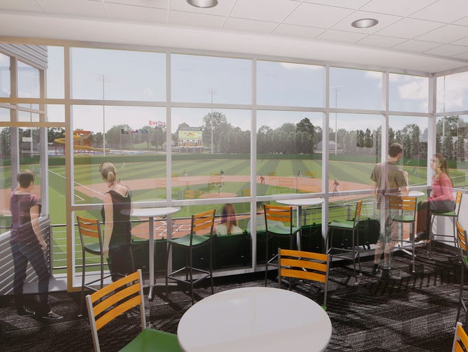 Proposed plans for the renovation of loeb stadium announced for Renovation drawings