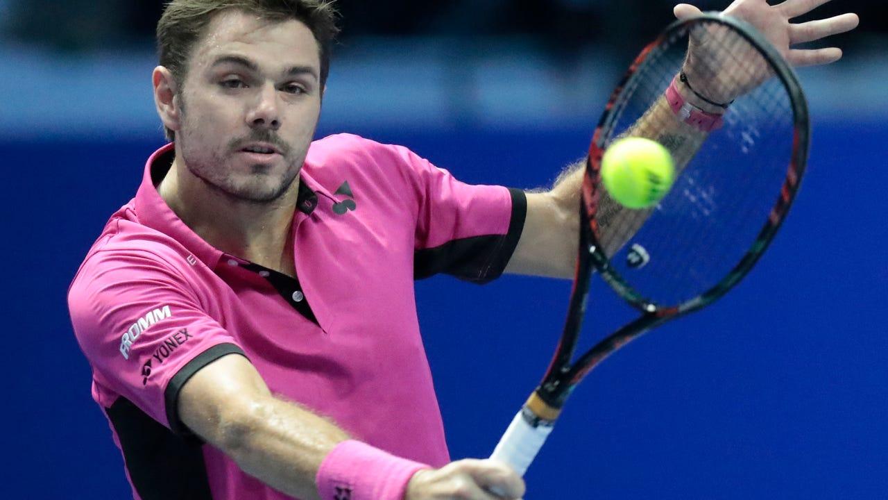 U.S. Open champion Stan Wawrinka fell in the the St. Petersburg final to Alexander Zverev.