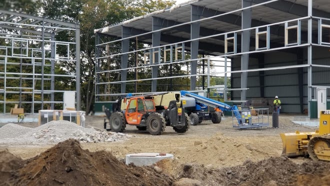 New medical marijuana facility for Coastal Healing is being built on Route 6 in Westport.