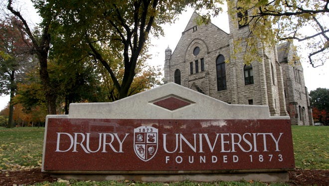 A Drury University employee who was shot in April 2015 has filed a federal lawsuit.
