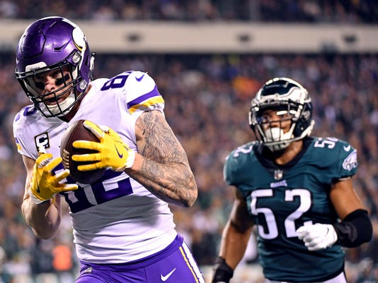 NFL: NFC Championship-Minnesota Vikings at Philadelphia Eagles