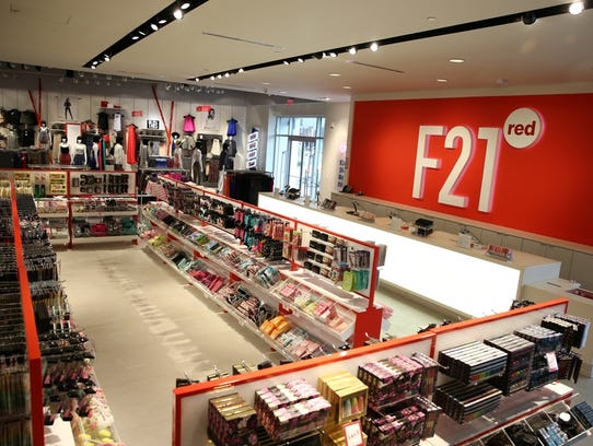 A Forever 21 concept store, F21 red, will open in Tempe