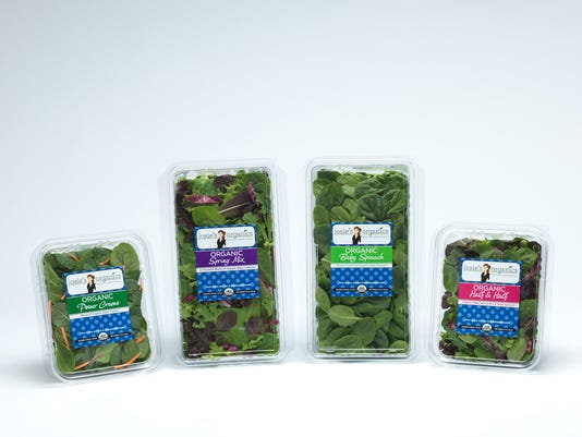 Josie's Organics Baby Greens and Salad Blends