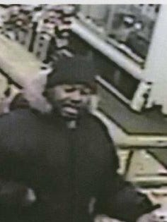 This man, shown in an image from a surveillance video, is believed to have robbed clerks at Madison Street Liquors, 1015 S. Madison St., on Jan. 14, and the Village Pantry, 101 E. Memorial Drive, on Jan. 10.