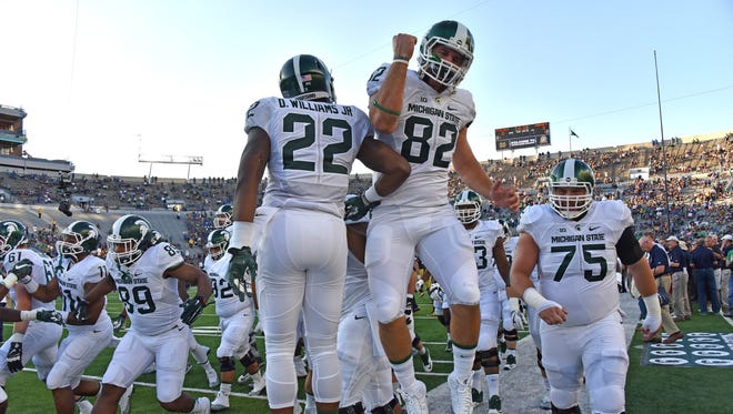 Michigan State and Boston College last played one another in 2007.