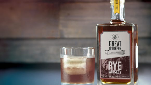 Great Northern Distilling's rye whiskey was recently