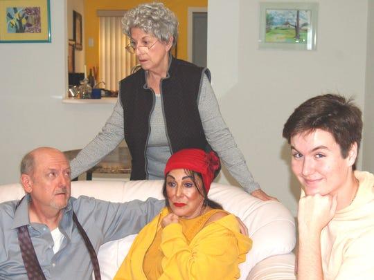 "A.C.T. Studio Theatre presents ""The Last Romance"" March 3-18.(L-R) are Michael Beecher, Arlene Love, Arlette Eulo and Aidan McDonnell."