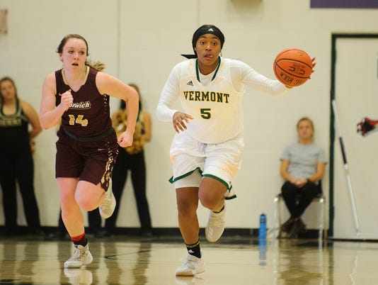 Norwich vs. Vermont Women's Basketball 11/15/17
