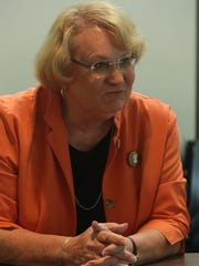 Lisa Middleton at The Desert Sun editorial board's