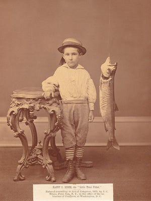 Harry C. Morse was the at the center of a wild fish story.