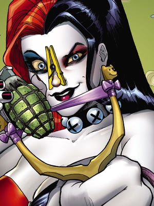 """Insanity and various odors are on tap in the new """"Harley Quinn Annual,"""" the latest issue of one of DC Comics' top-selling series."""
